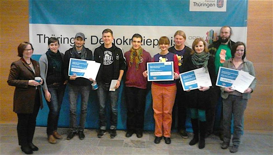 Kinderstadt mit Thüringer Demokratiepreis ausgezeichnet