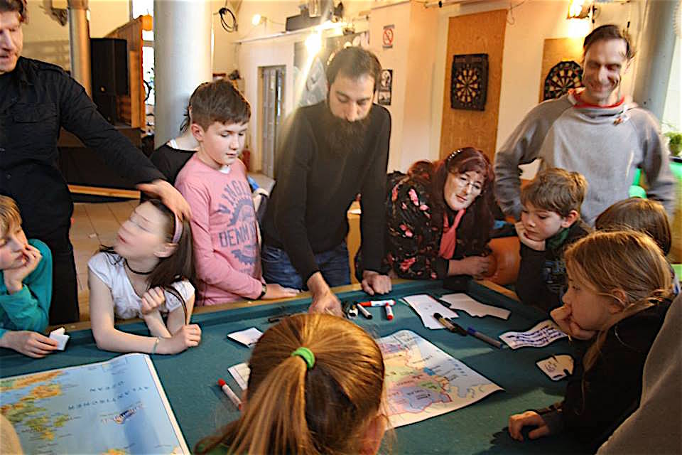 Thema Flucht und Migration im Kinder-Stadtrat