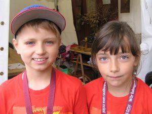 Ben und Kira von den Töpfern