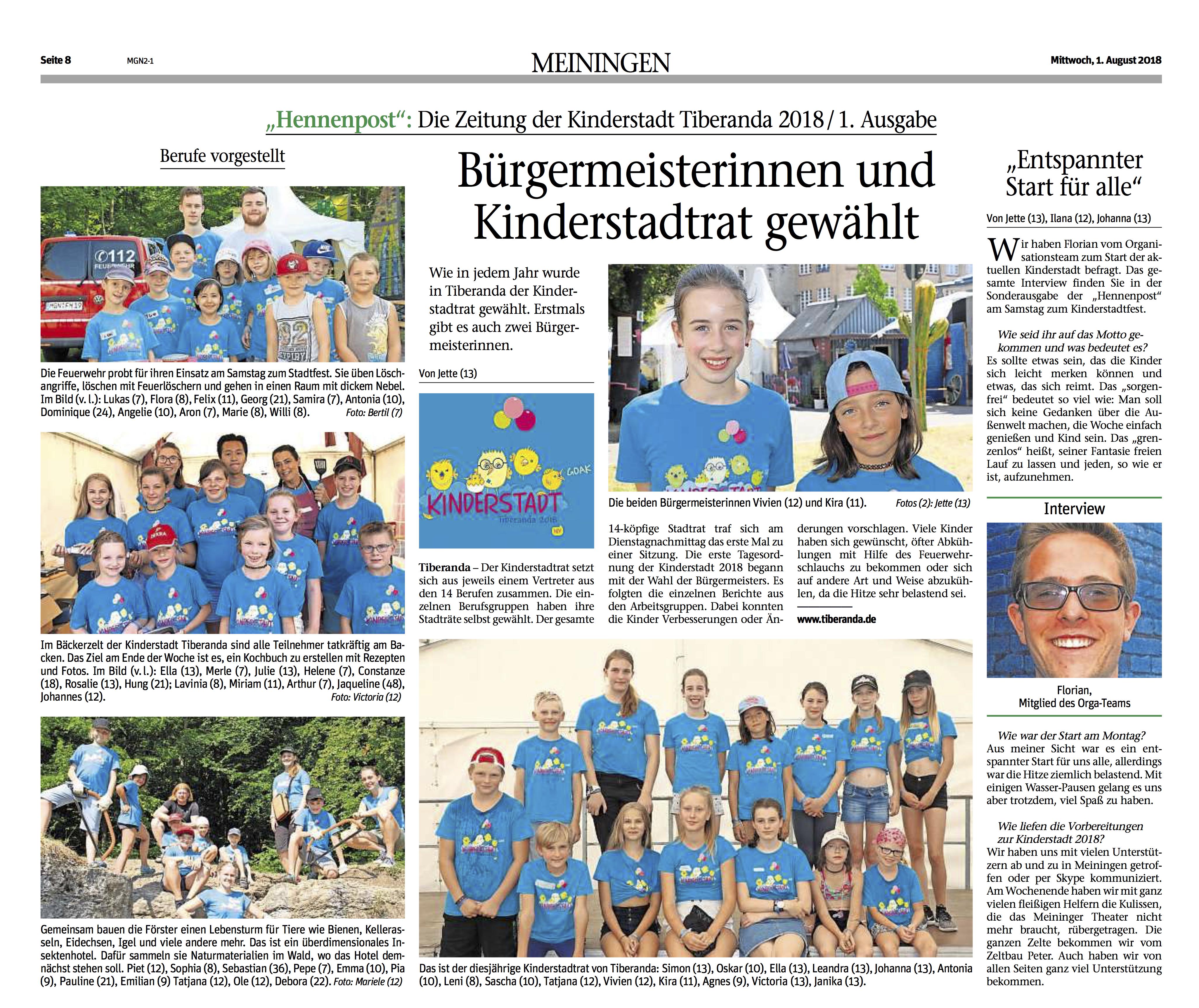 """Erste Ausgabe der """"Hennenpost"""" erschienen!"""
