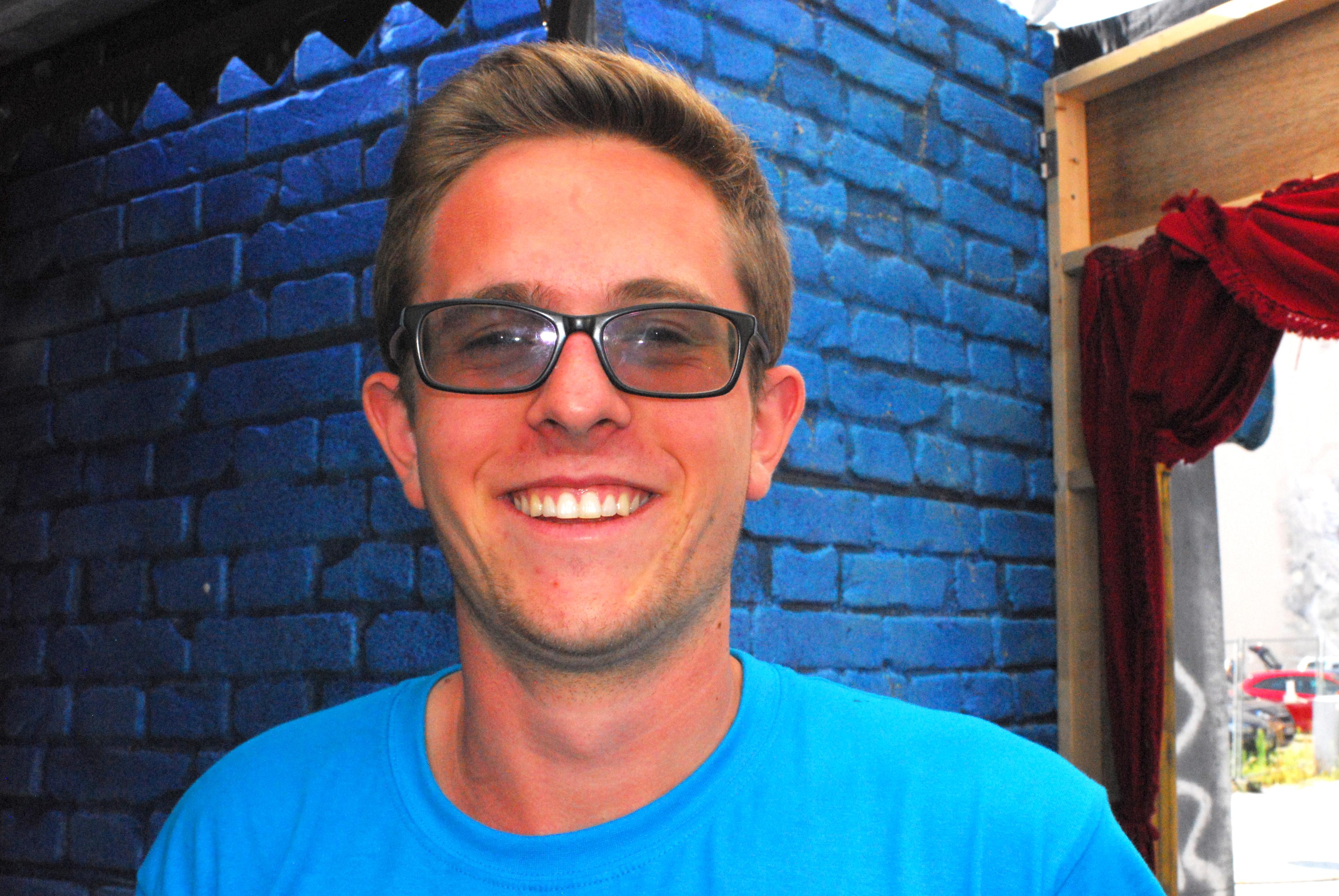 Interview mit Florian (22) vom Organisations- Team